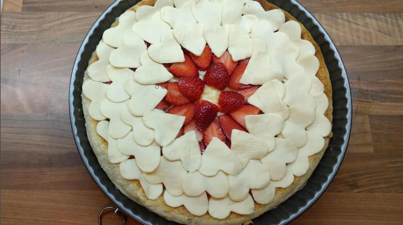 tarta-fresas-para-hornear