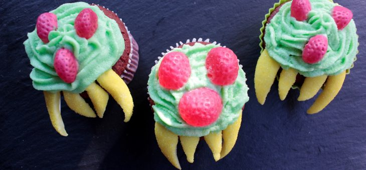 Metroid Cupcakes!! Cocina Geek