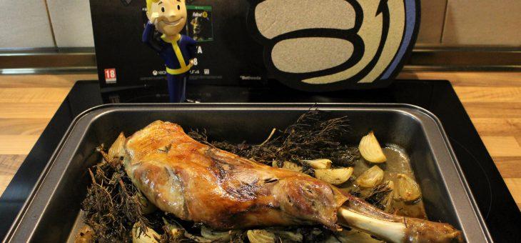 Asado de Yao Guai – Fallout 76 – Cocina en el Yermo